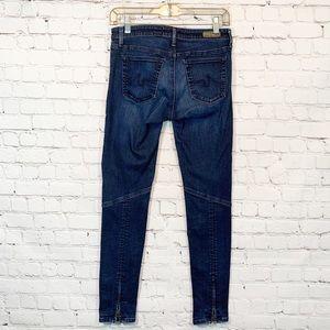 Ag Adriano Goldschmied Jeans - Adriano Goldschmied   the Moto zipper Legging